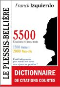 Dictionnaire des citations Courtes - Franck Izquierdo -  Kindle ebook Amazon